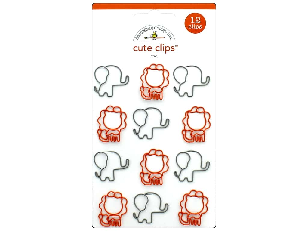 Doodlebug Collection At The Zoo Cute Clips Zoo