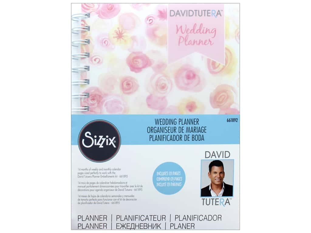 Sizzix David Tutera DIY Wedding Planner