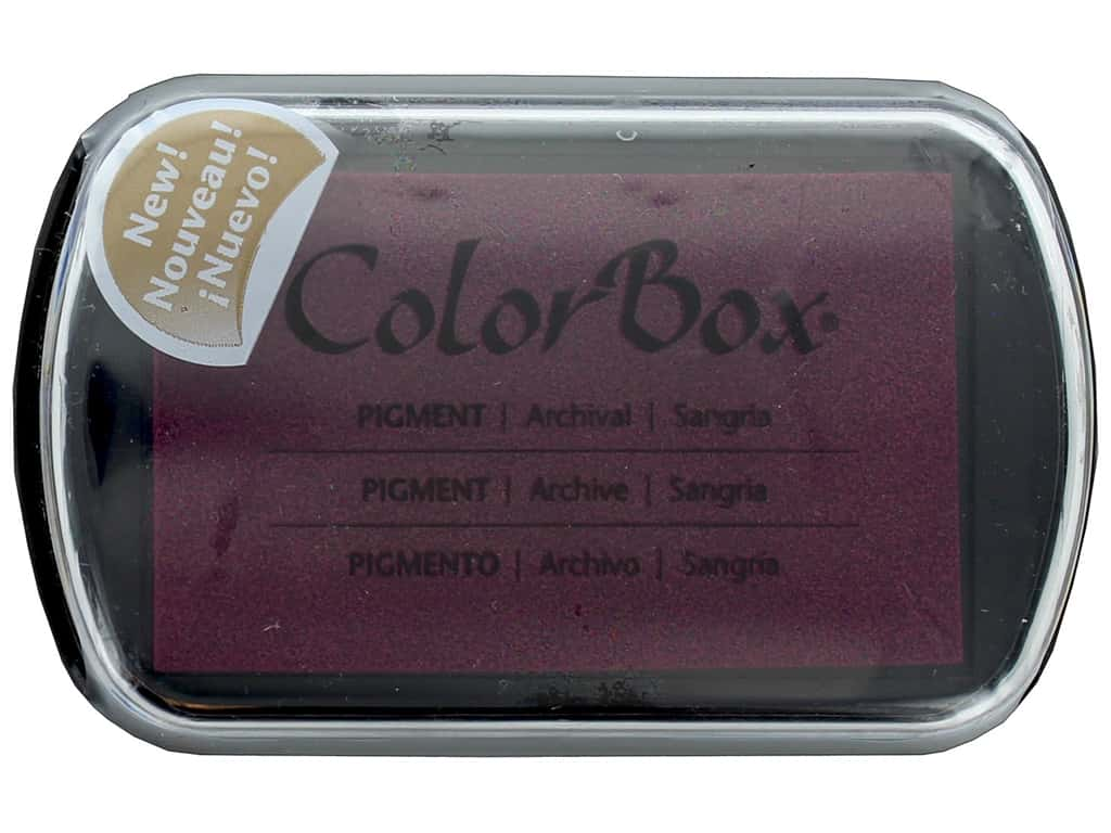 Colorbox Full Size Pigment Inkpad Sangria