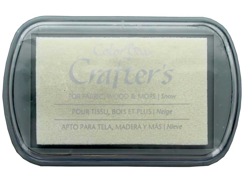 ColorBox Crafter's Full Size Inkpad Snow