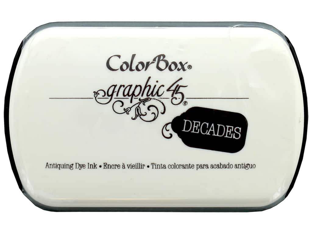 ColorBox Graphic 45 Decades Inkpad Photogenic