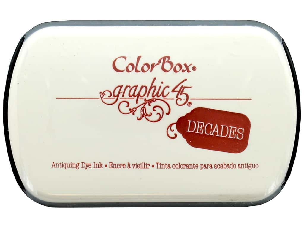 ColorBox Graphic 45 Decades Inkpad Triumphant Red