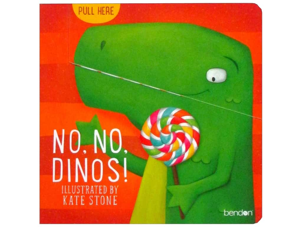 Bendon No No Dinos Book