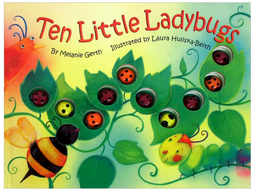 Bendon Ten Little Ladybugs Book