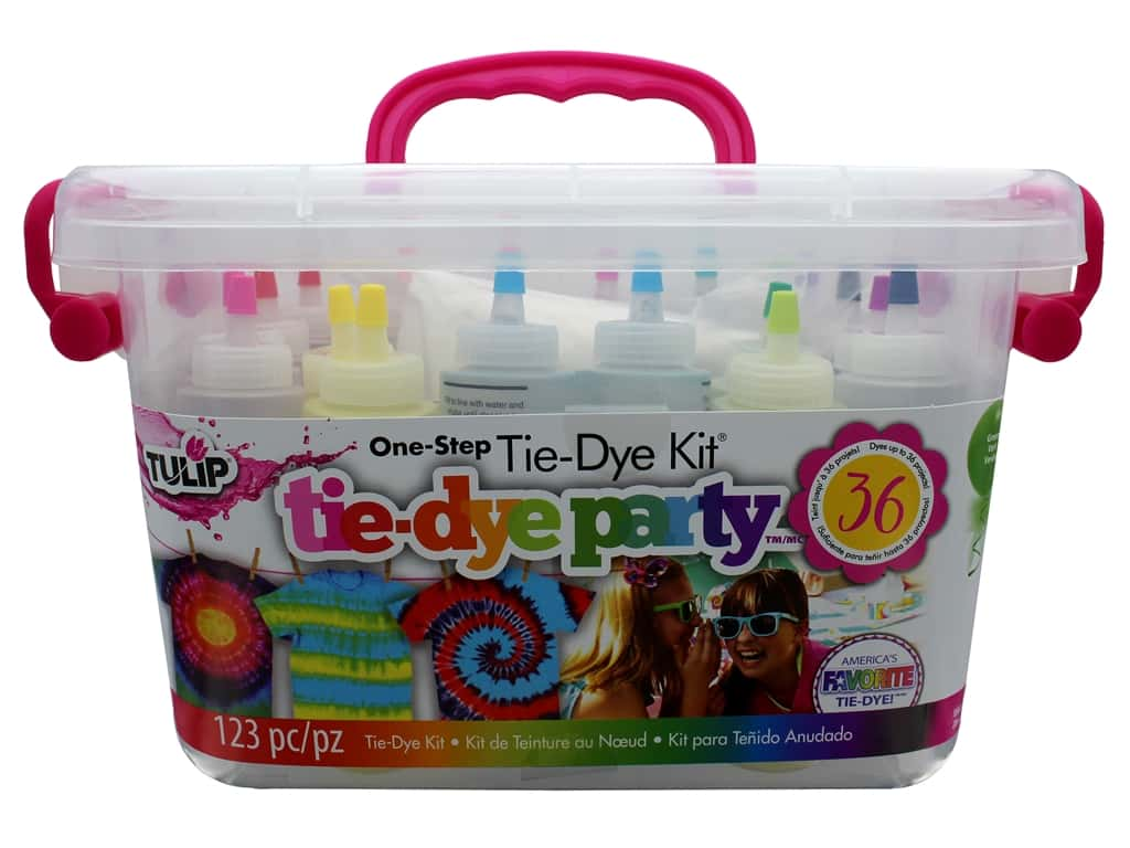 68872fb375ad Details about Tulip One Step Tie-Dye Party Kit