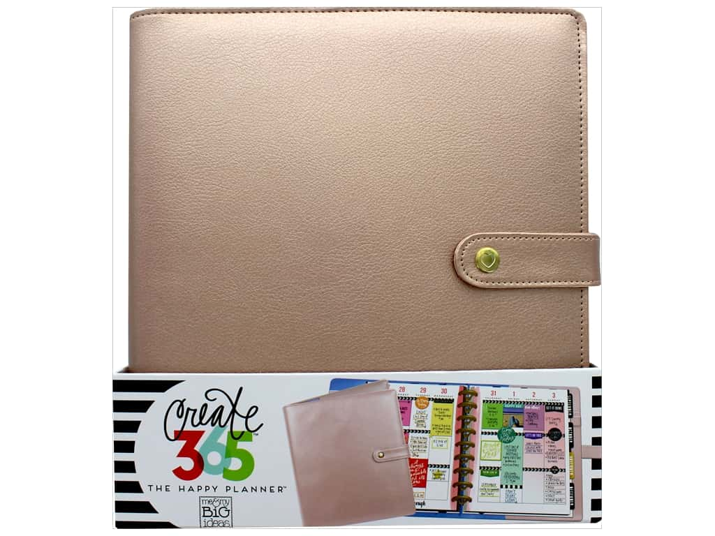 Me & My Big Ideas Create 365 Happy Planner Deluxe Cover - Classic Rose Gold