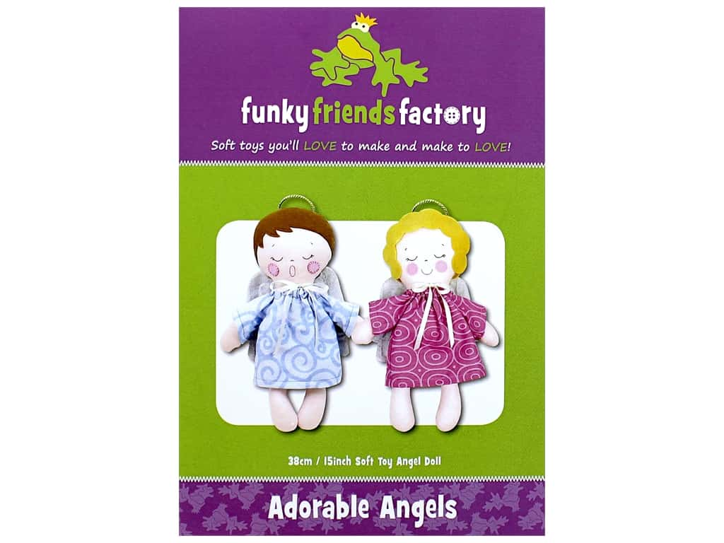 Funky Friends Factory Adorable Angels Pattern