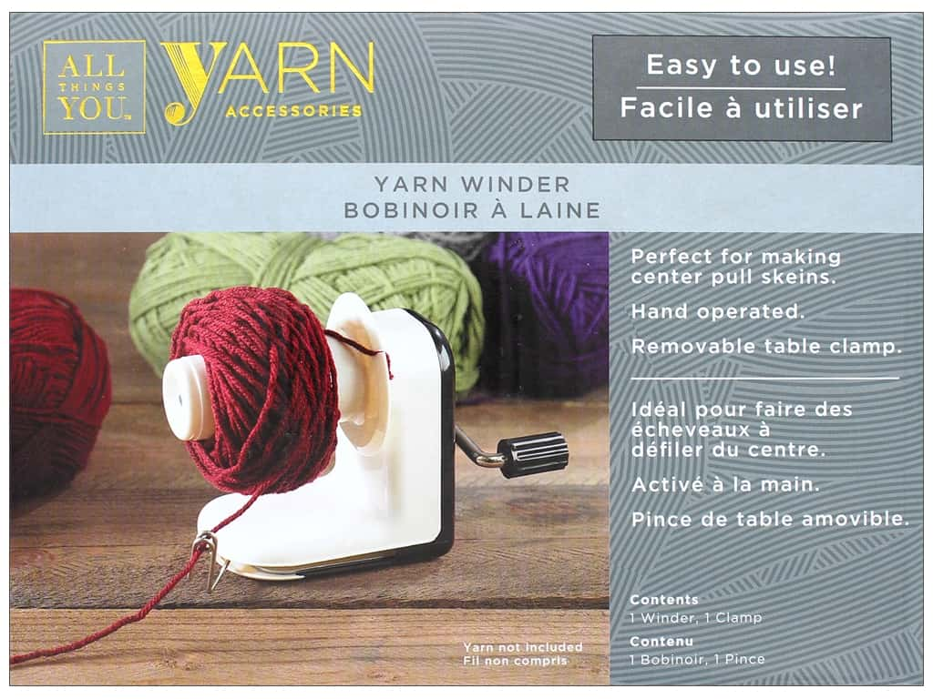 Darice All Things You Yarn Winder