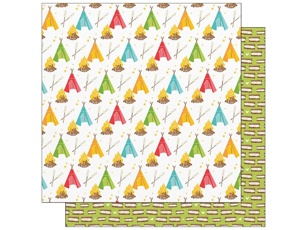 """Photo Play Collection Summer Bucket List Paper 12""""x 12"""" Summer Fort (25 pieces)"""