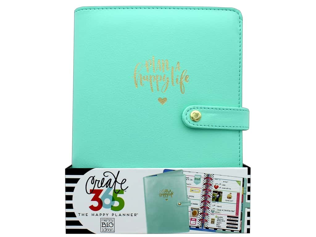 Me & My Big Ideas Create 365 Happy Planner Deluxe Cover - Mini Mint