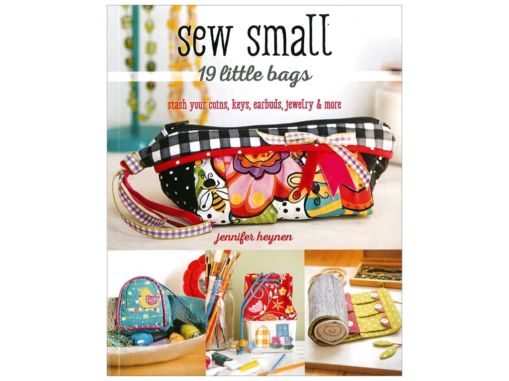 Stash By C&T Sew Small 19 Little Bags Book