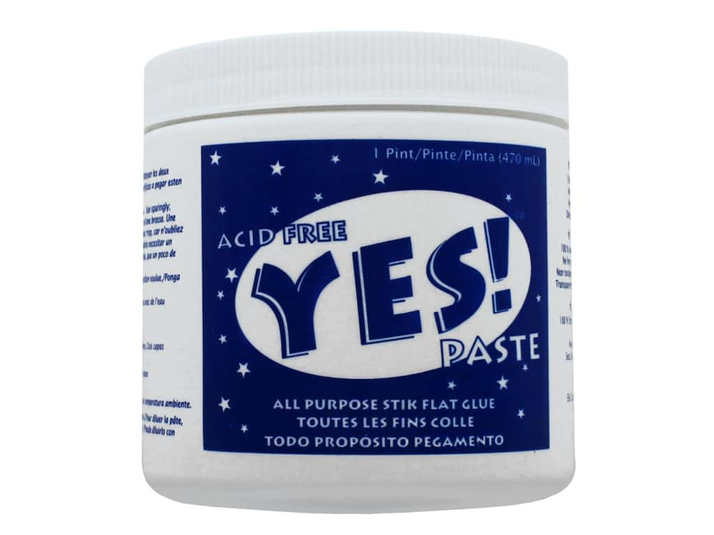 YES Paste Stik Flat Glue 16 oz.