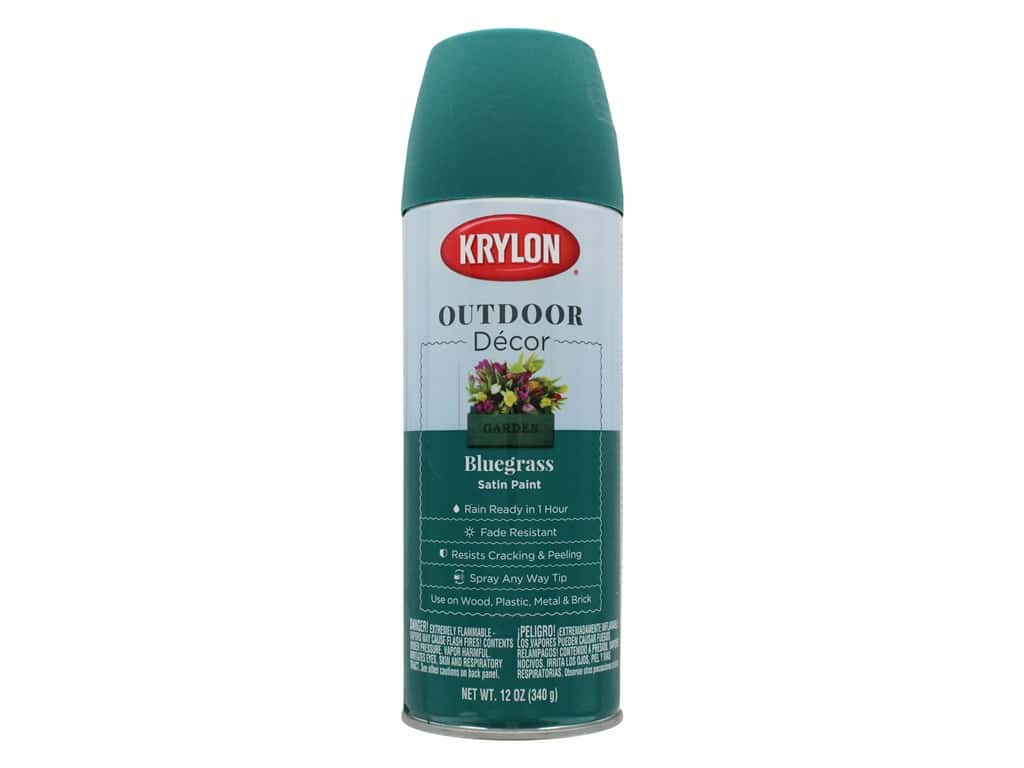 Krylon Outdoor Decor Paint 12 oz. Bluegrass
