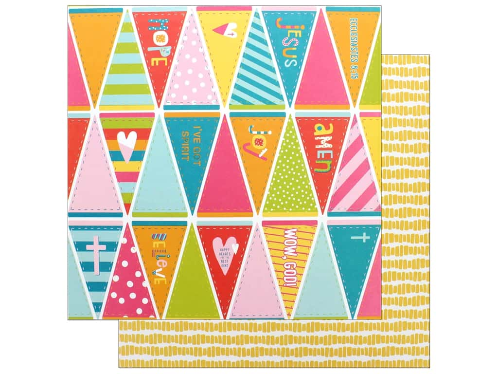 "Bella Blvd Collection Delight In His Day Paper 12""x 12"" Top Notch (25 pieces)"