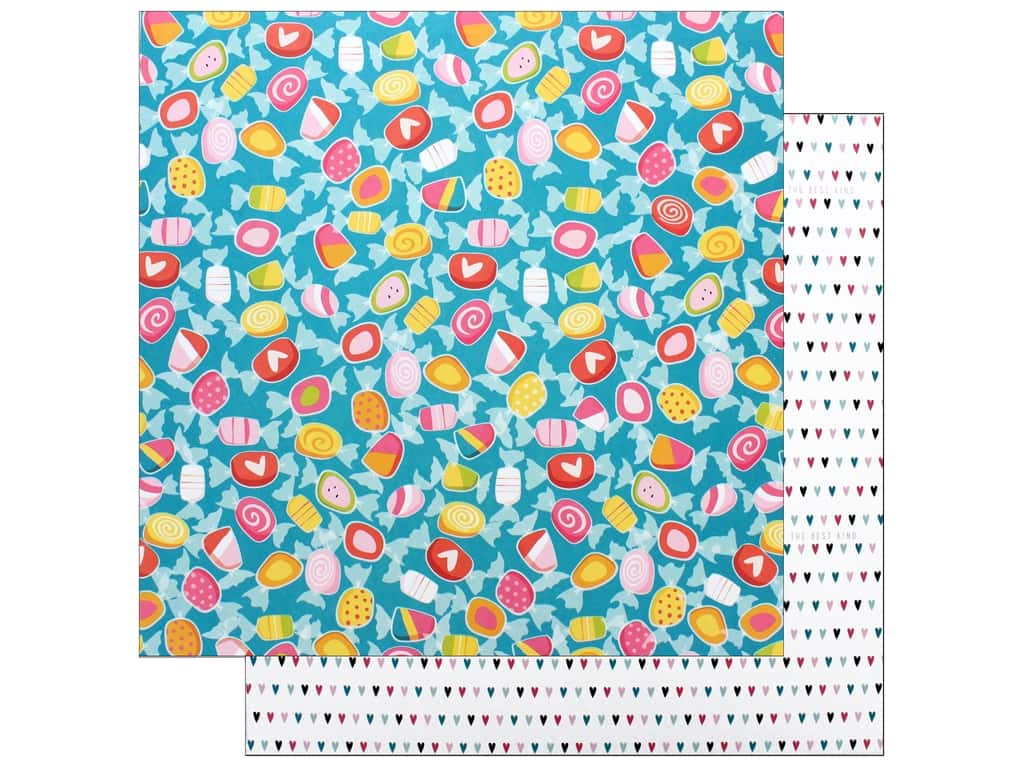 """Bella Blvd Collection Delight In His Day Paper 12""""x 12"""" Believe It (25 pieces)"""