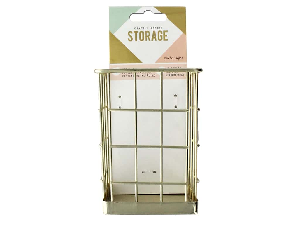 Crate Paper Craft & Offce Storage Wire System Small Bin