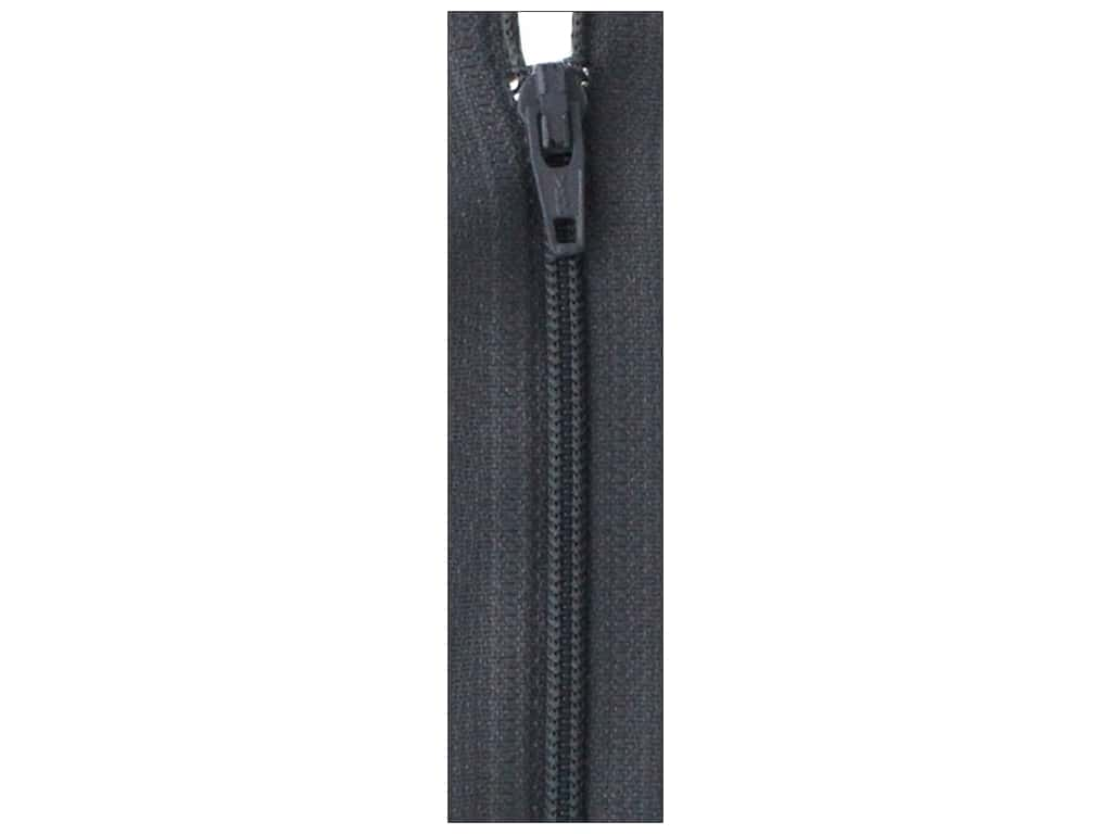 Atkinson Designs Zipper by YKK 22 in. Charcoal (6 pieces)
