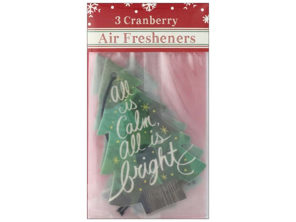 Molly & Rex Air Freshener Holiday Bright Tree 3pc