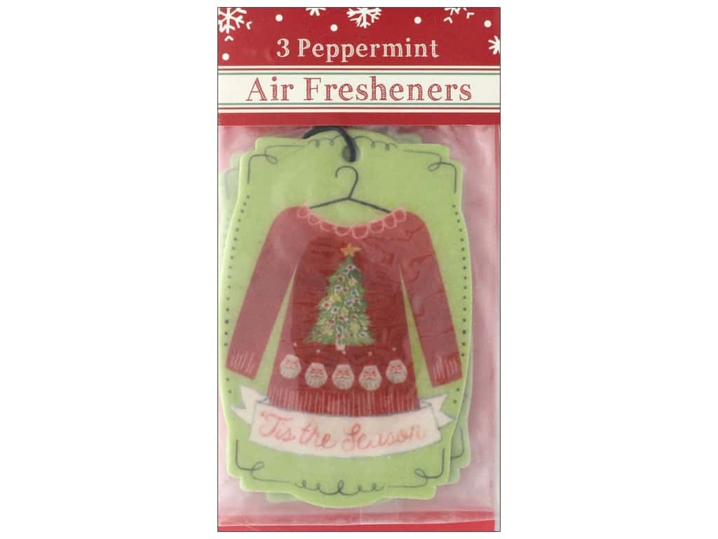 Molly & Rex Air Freshener Holiday Sweater 3pc
