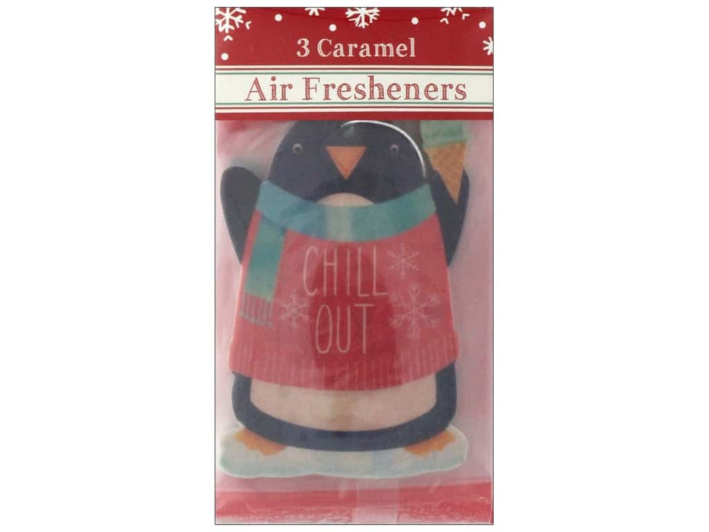 Molly & Rex Air Freshener Holiday Chill Out Penguin 3pc