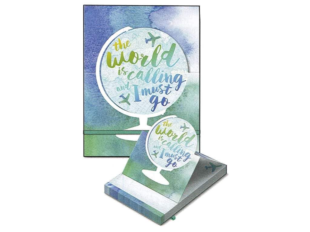 Molly & Rex Note Pop Up Pocket Pad World/Calling