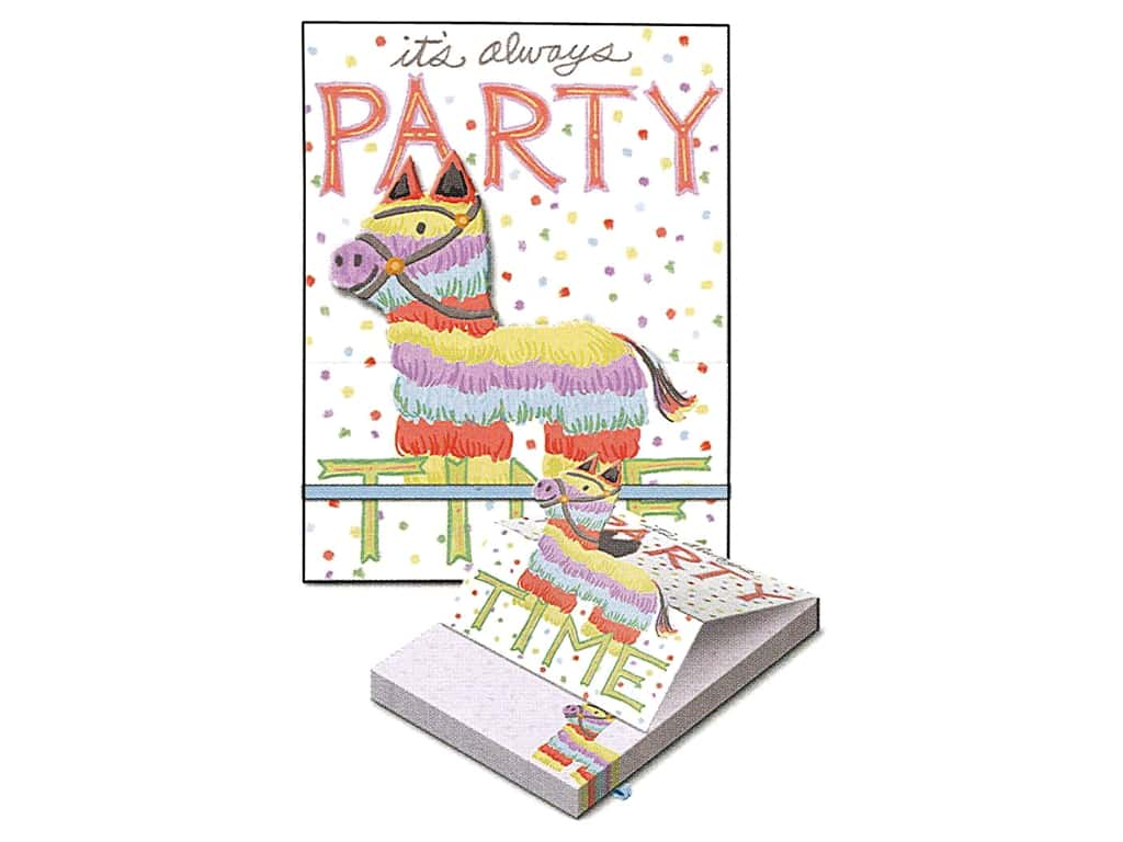 Molly & Rex Note Pop Up Pocket Pad Party Pinata