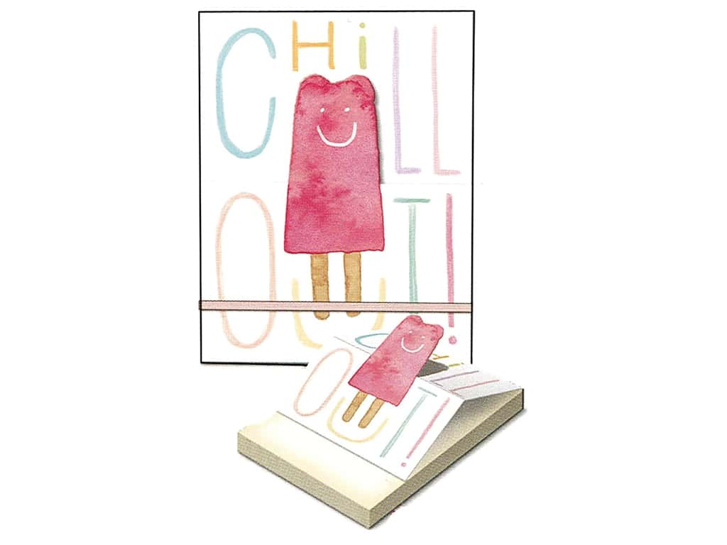 Molly & Rex Note Pop Up Pocket Pad Chill Out Pop