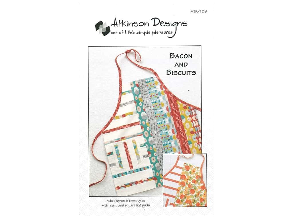 Atkinson Designs Bacon and Biscuits Pattern