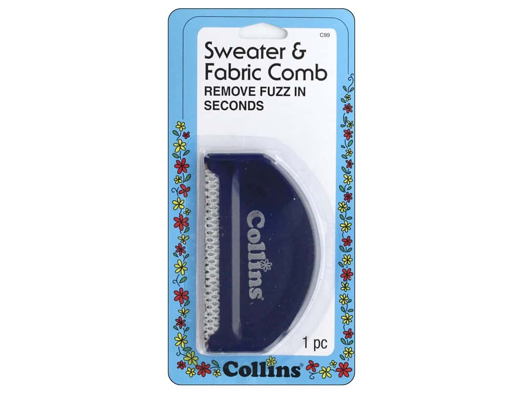 Collings Sweater & Fabric Comb 1 pc.