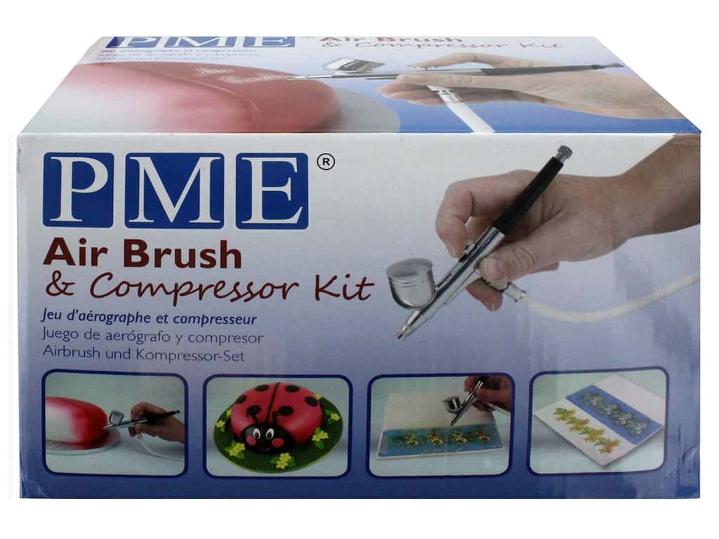 PME Airbrush Kit & Compressor Kit