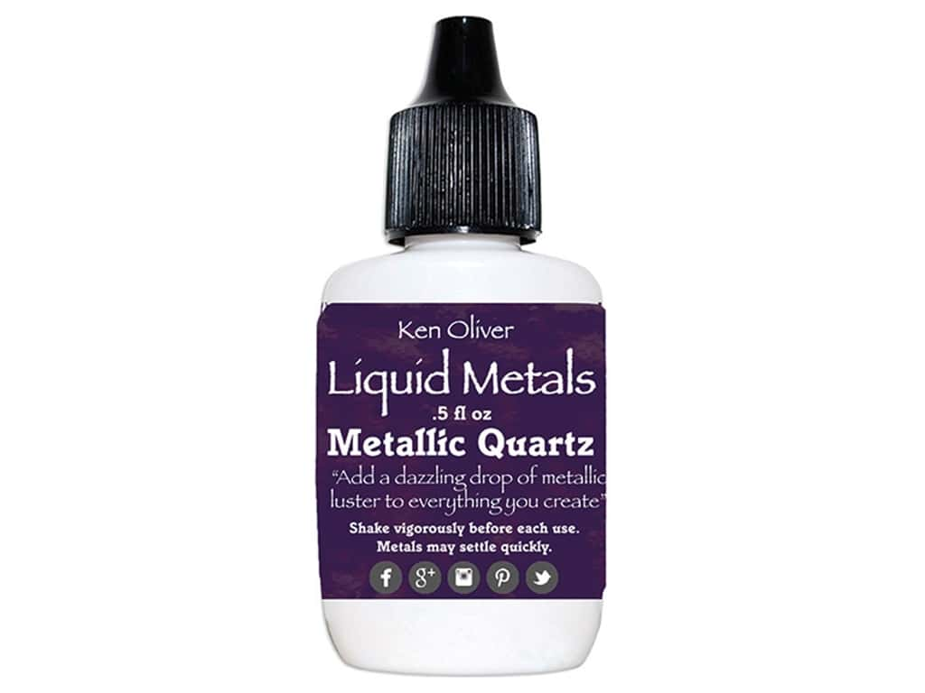 Contact Crafts Ken Oliver Liquid Metals .5 oz Metallic Quartz
