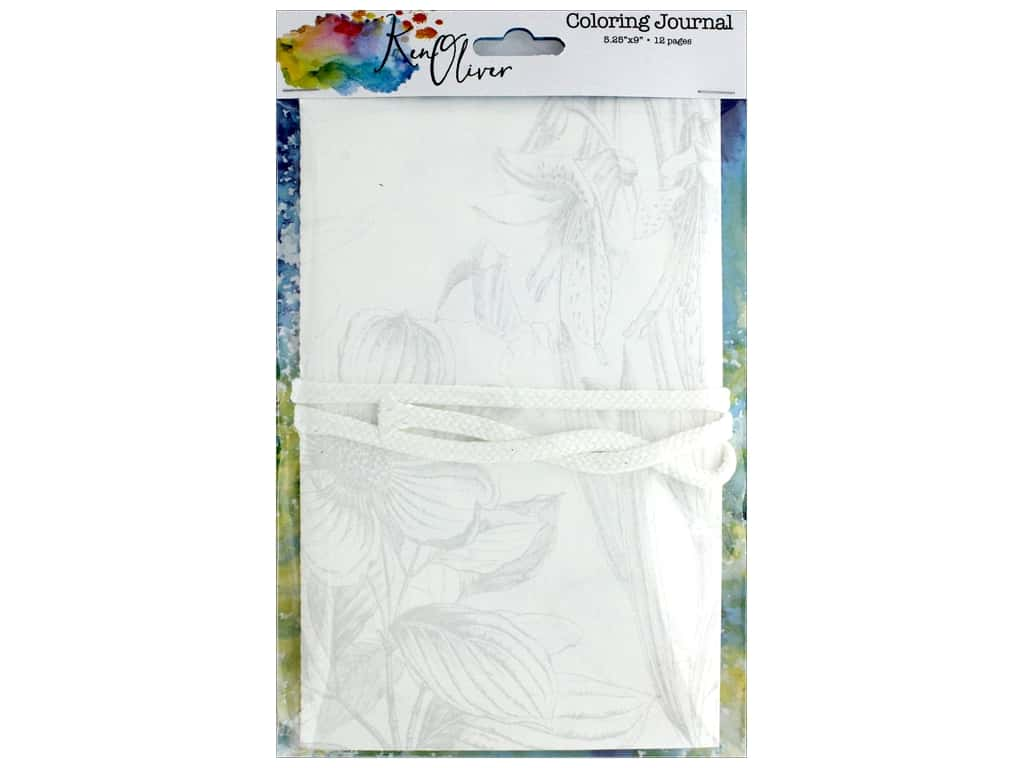 Canvas Corp Ken Oliver Coloring Journal
