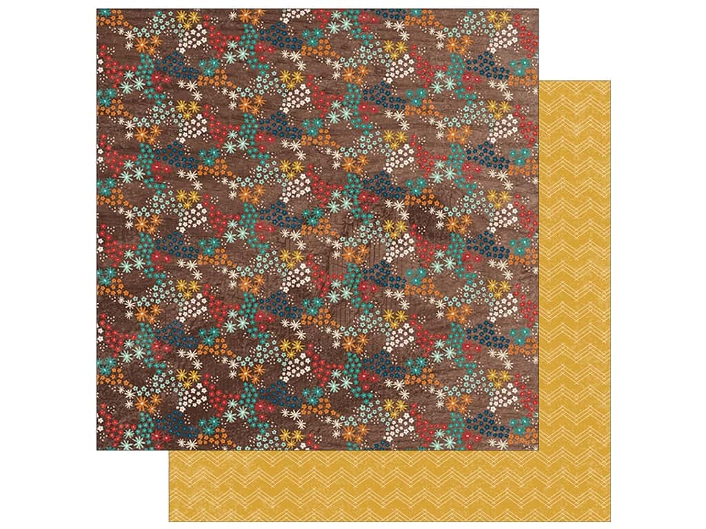 Simple Stories Collection Cabin Fever Paper  12 in. x 12 in. Roughin' It (25 pieces)