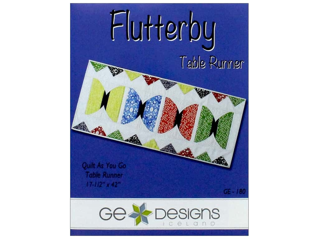 GE Designs Flutterby Runner Pattern