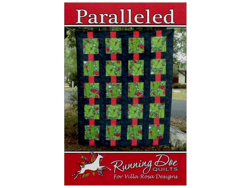 Villa Rosa Designs Running Doe Paralleled Pattern Card