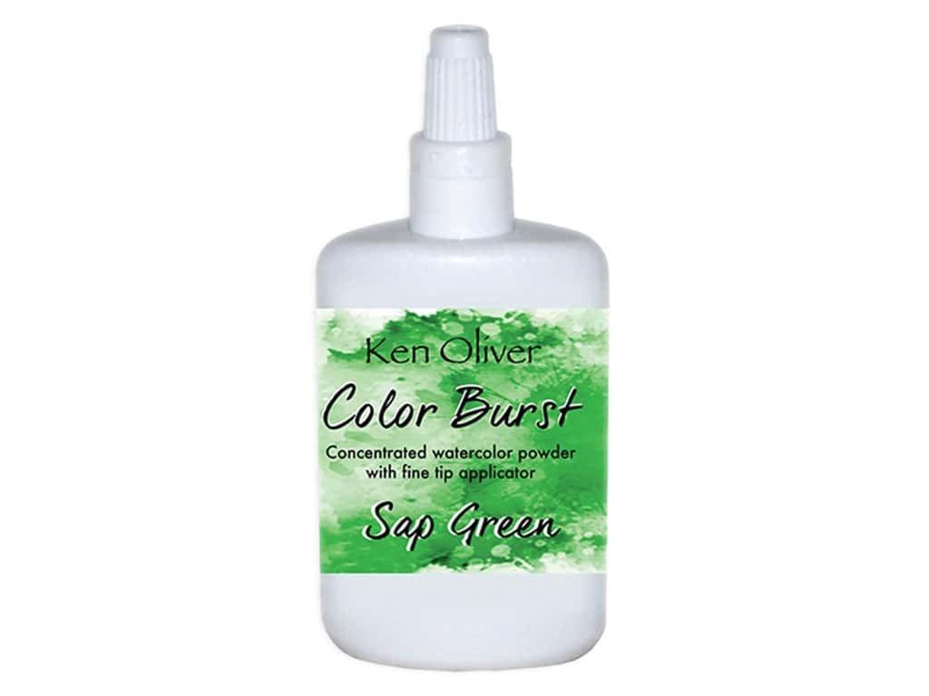 Contact Crafts Ken Oliver Color Burst 6 gm Sap Green