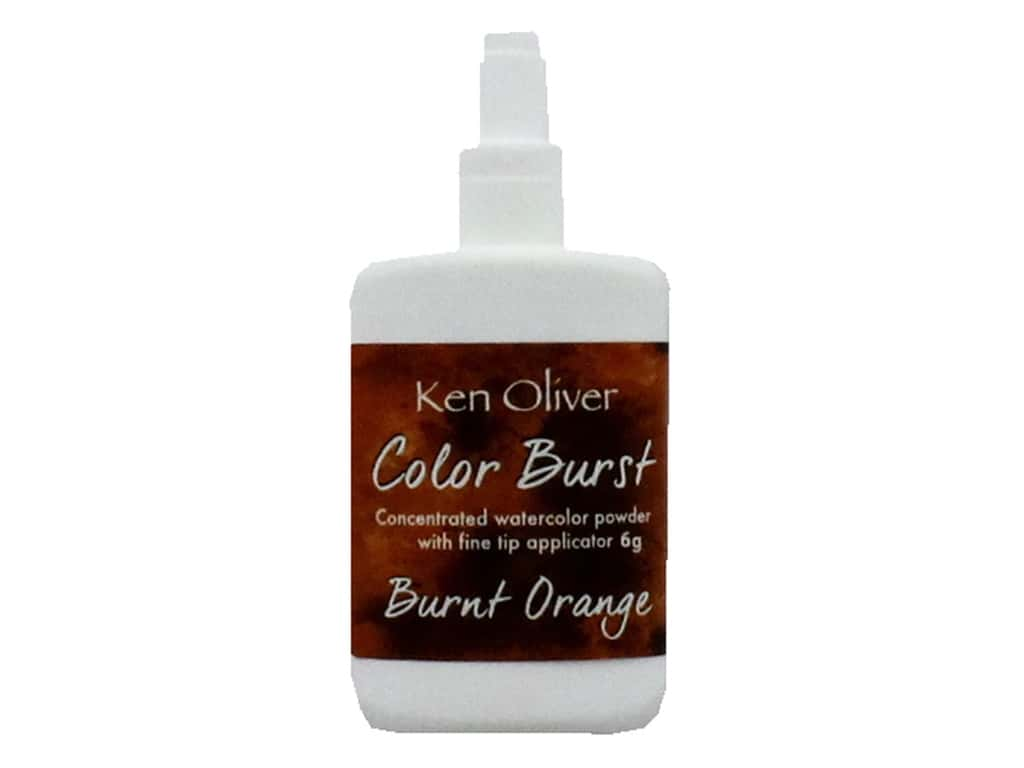 Contact Crafts Ken Oliver Color Burst 6gm Burnt Orange