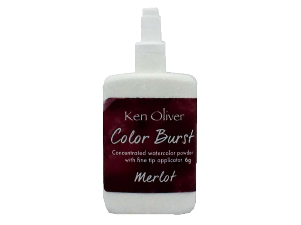 Contact Crafts Ken Oliver Color Burst 6gm Merlot
