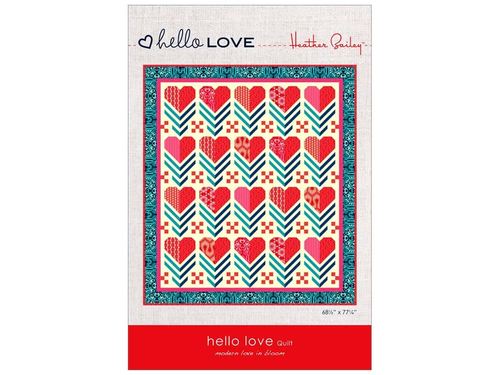 Heather Bailey Hello Love Quilt Pattern