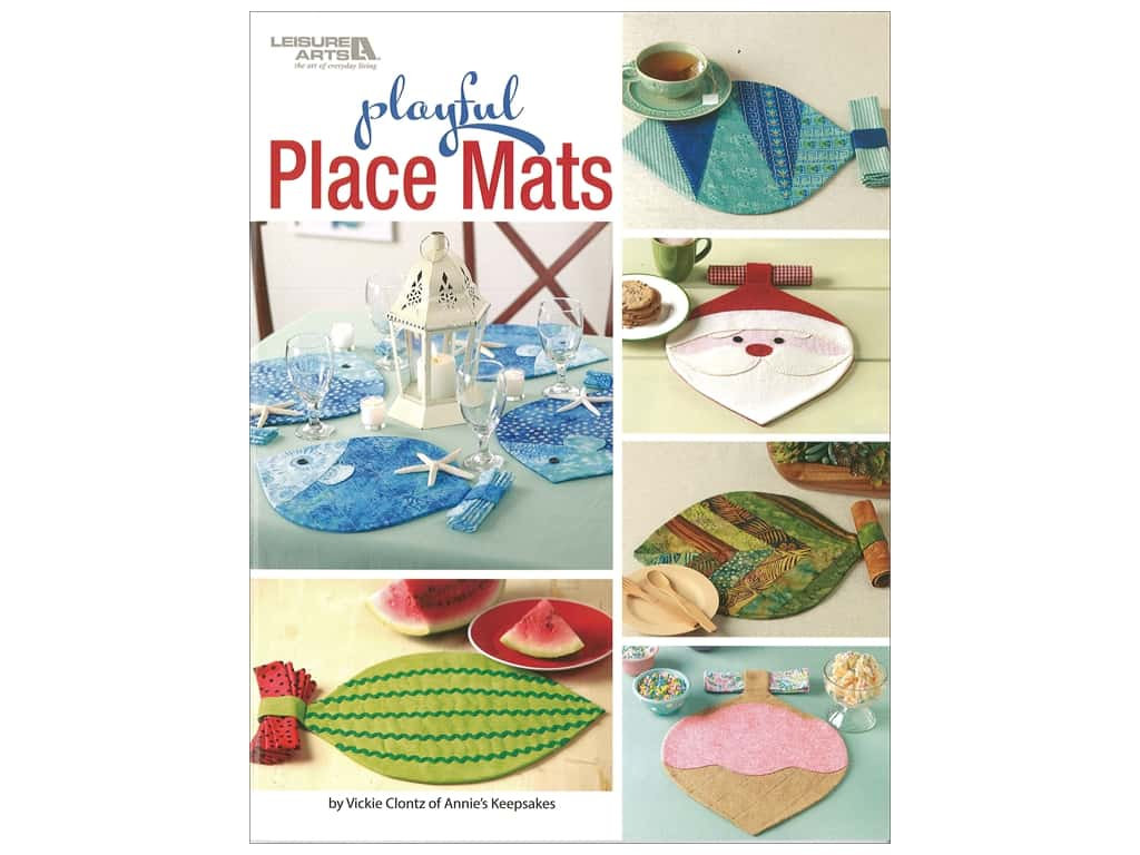 Playful Place Mats Book