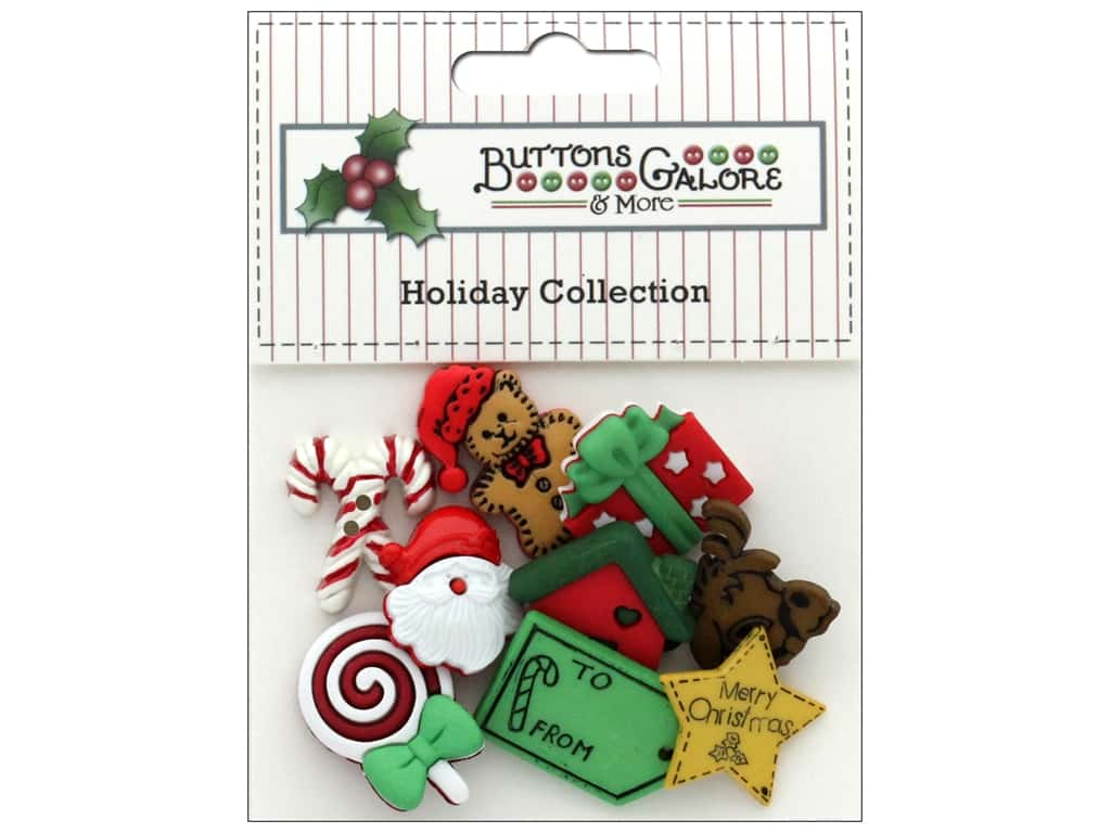 Buttons Galore Theme Button Holiday North Pole