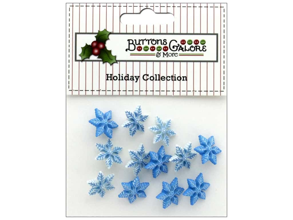 Buttons Galore Theme Button Holiday Winter Chill
