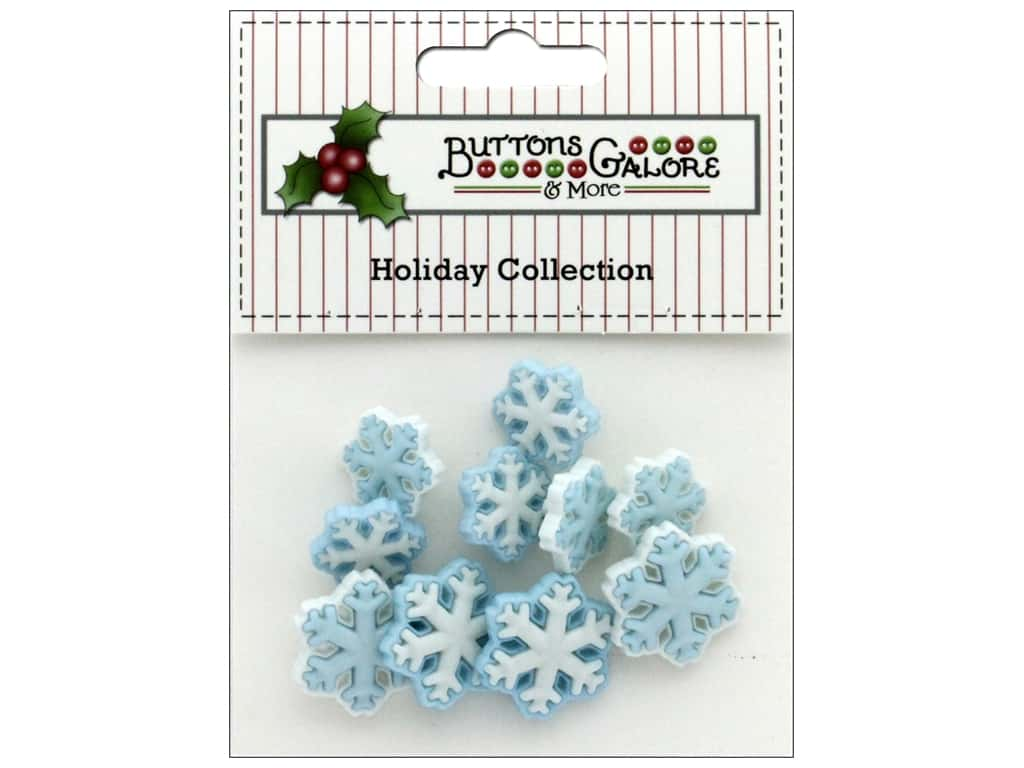 Buttons Galore Theme Button Holiday Arctic Blast