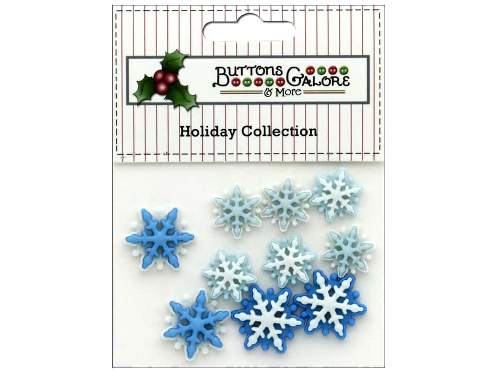Buttons Galore Theme Button Holiday Brrr!