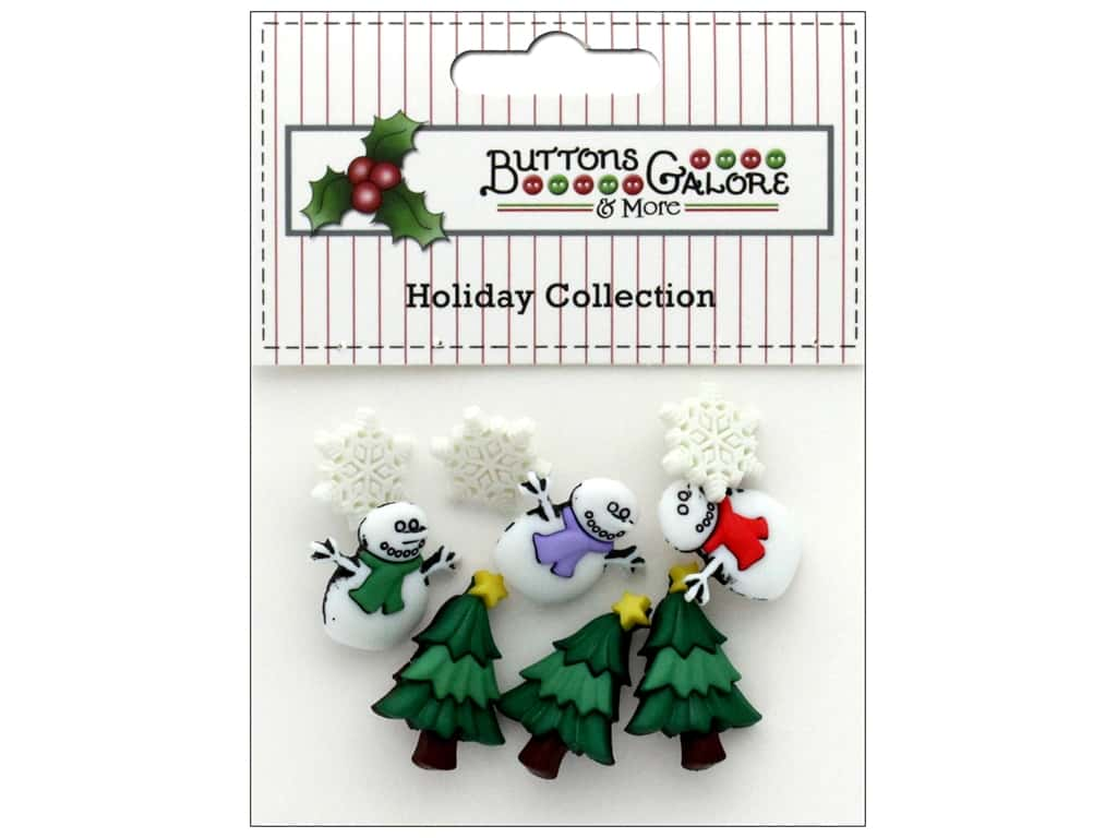 Buttons Galore Theme Button Holiday I Love Winter