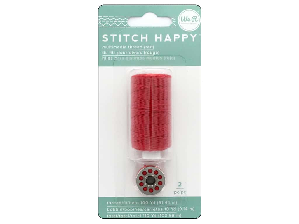 We R Memory Keepers Stitch Happy Thread Red