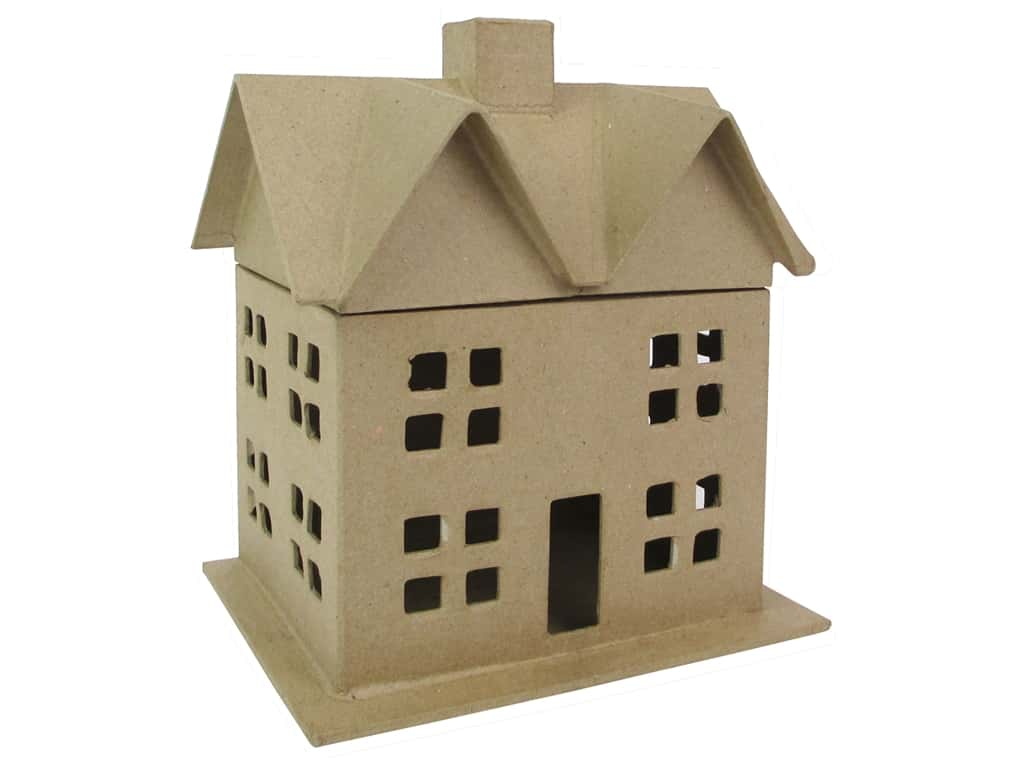 PA Paper Mache House Box 9 in. (8 boxes)