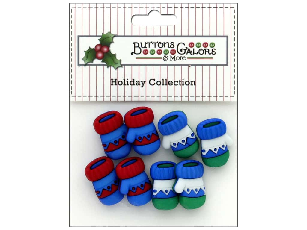 Buttons Galore Theme Button Holiday Winter Warm