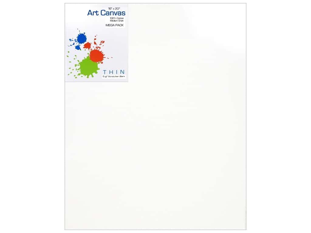 Sierra Pacific Crafts Canvas 3 mm 16 x 20  Mega Pack 5 pc