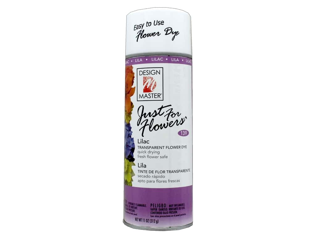 Design Master Just For Flowers Spray Dye 11 oz. #139 Lilac